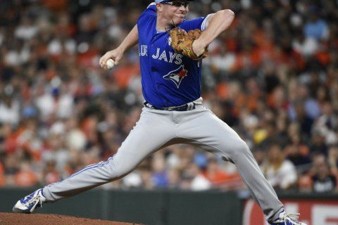 Thornton shuts down former team, Blue Jays rout Astros 12-0