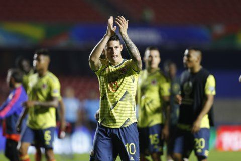 Colombia plays Paraguay with mind already on Copa last 8
