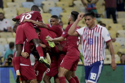 Qatar surprises Paraguay with 2-2 draw in Copa America debut