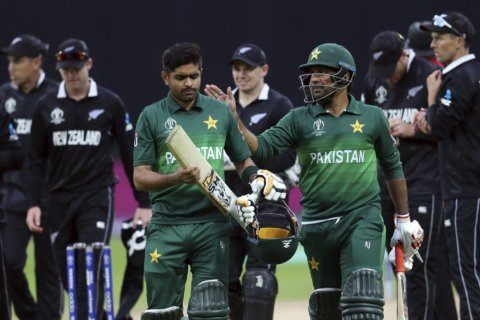 The Latest: Australia strangles NZ by 86 runs at Lord's