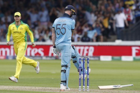 No doddle: England in a spot of bother at Cricket World Cup