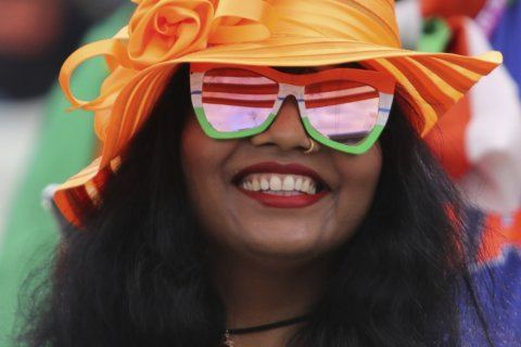 The Latest: India's slow finish a credit to England bowling