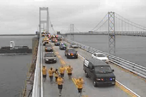 Westbound lanes on Bay Bridge to close for Special Olympics torch run