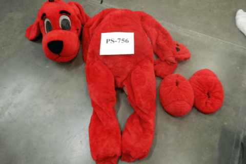 Loudoun surplus auction includes pizza pans, Big Red Dog suit
