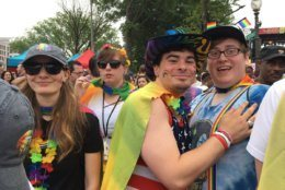 capital pride festivities