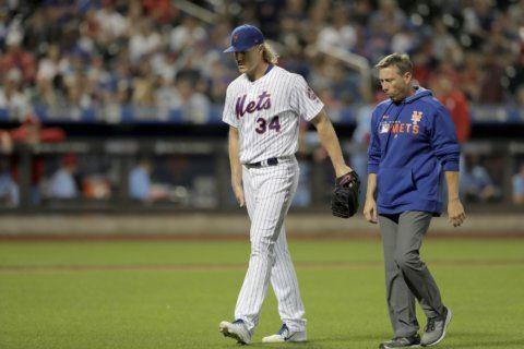 Mets: Syndergaard on injured list, Canó back, Vargas cramps
