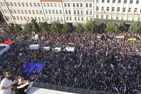 Prague set to see biggest protests since Velvet Revolution