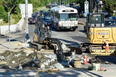 Gas main break repairs concluded on Canal Road, Whitehurst Freeway — for now