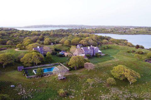 Jackie Onassis' 340-acre estate on Martha's Vineyard hits market for $65M