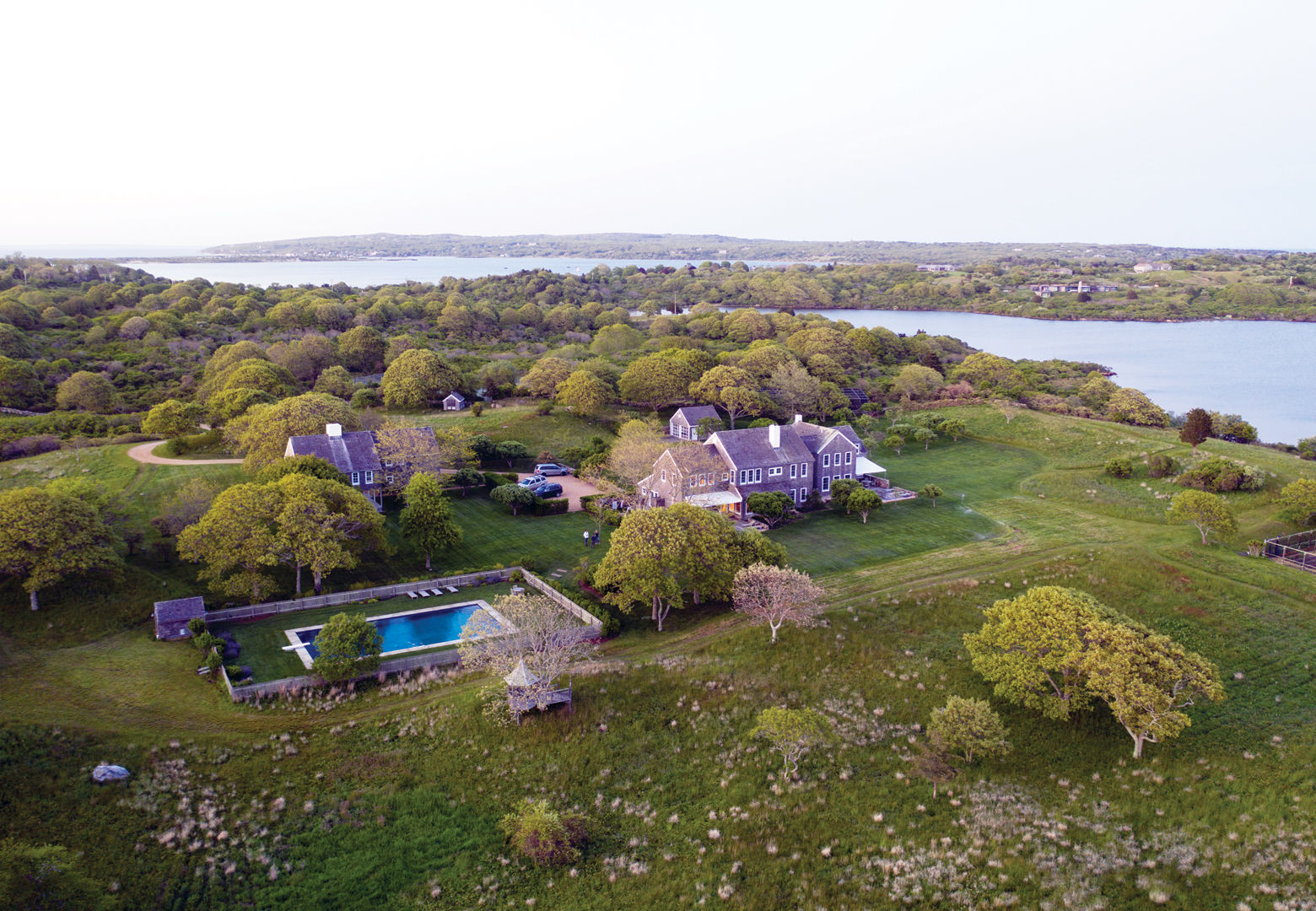 Jacqueline Kennedy Onassis bought Red Gate Farm on Martha's Vineyard in 1979. (Courtesy Christie's)
