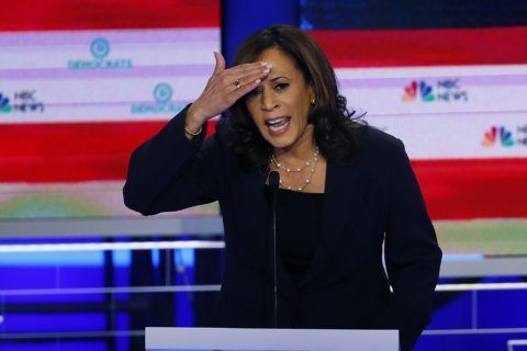 Harris lands 2020 endorsement from 2 Black Caucus members