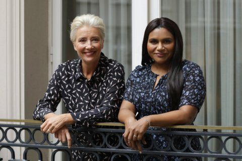 Q&A: 'Late Night' power duo Emma Thompson and Mindy Kaling
