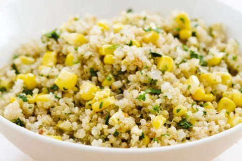 For this quinoa side dish, we turned to the Southwest