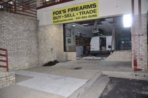 Man, teen face more charges after 2 Md. gun store burglaries