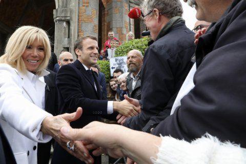 France's first lady Brigitte Macron is no fan of politics