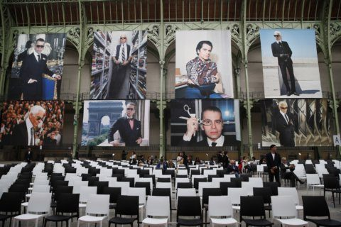 Stars put on tribute for late Karl Lagerfeld in Paris