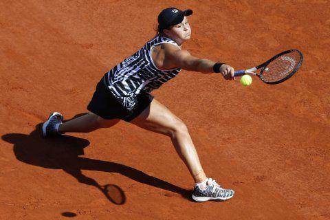 French Open: Australia's Ashleigh Barty triumphs over Marketa Vondrousova