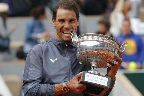 French Open glance: Nadal adds to his record with 12th title