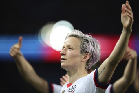 Megan Rapinoe is being, well, Megan Rapinoe at the World Cup