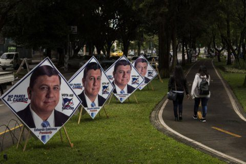 Early results: Businesswoman ahead in Guatemalan election