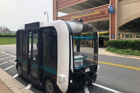 WATCH: Self-driving shuttle bus coming to National Harbor, Arlington