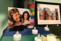 On what would have been Zoe Spears' 24th birthday on Tuesday, friends gathered at the Latin American Youth Center to remember the transgender woman who was murdered last week. (WTOP/Kristi King)