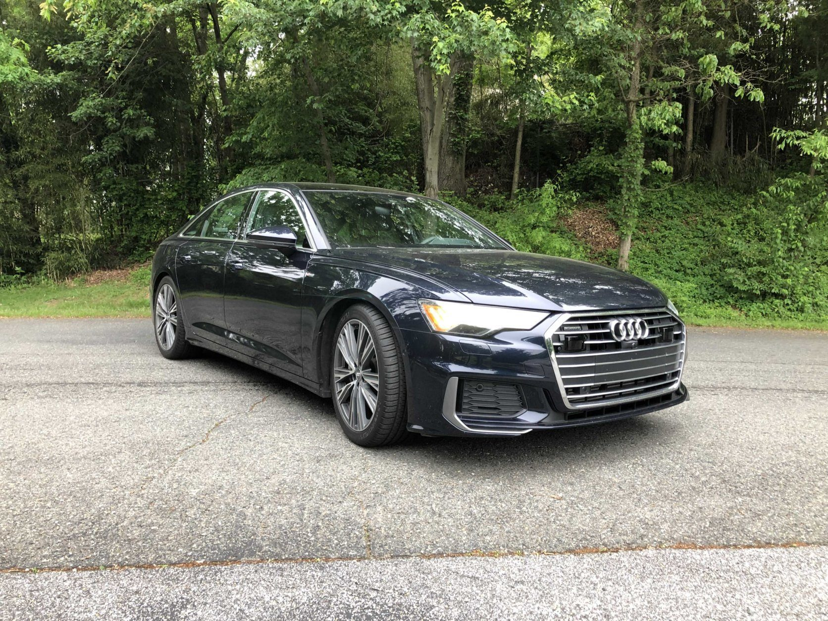 The new 2019 Audi A6, fully loaded for $77,000. (WTOP/Mike Parris)