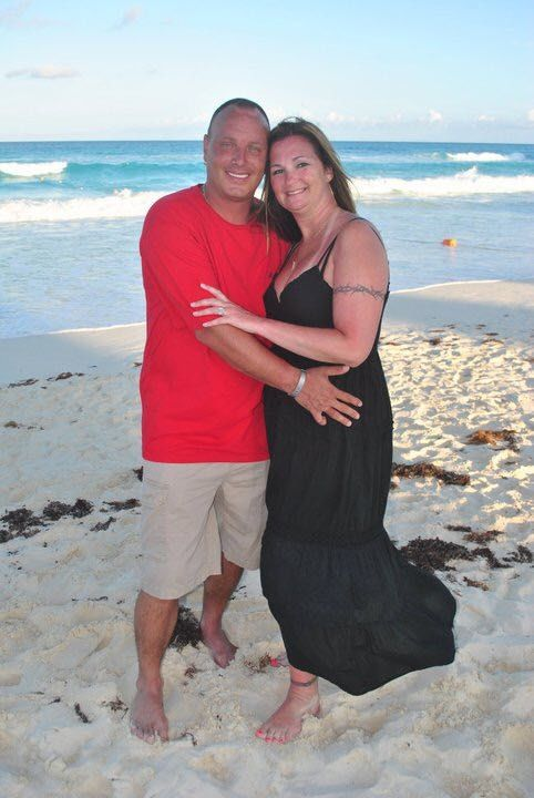 David Harrison and his wife, Dawn McCoy, of Charles County, Maryland. (Courtesy Dawn McCoy)