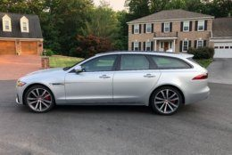 WTOP Car Reviewer Mike Parris says Jaguar has made the wagon cool again. (WTOP/Mike Parris)