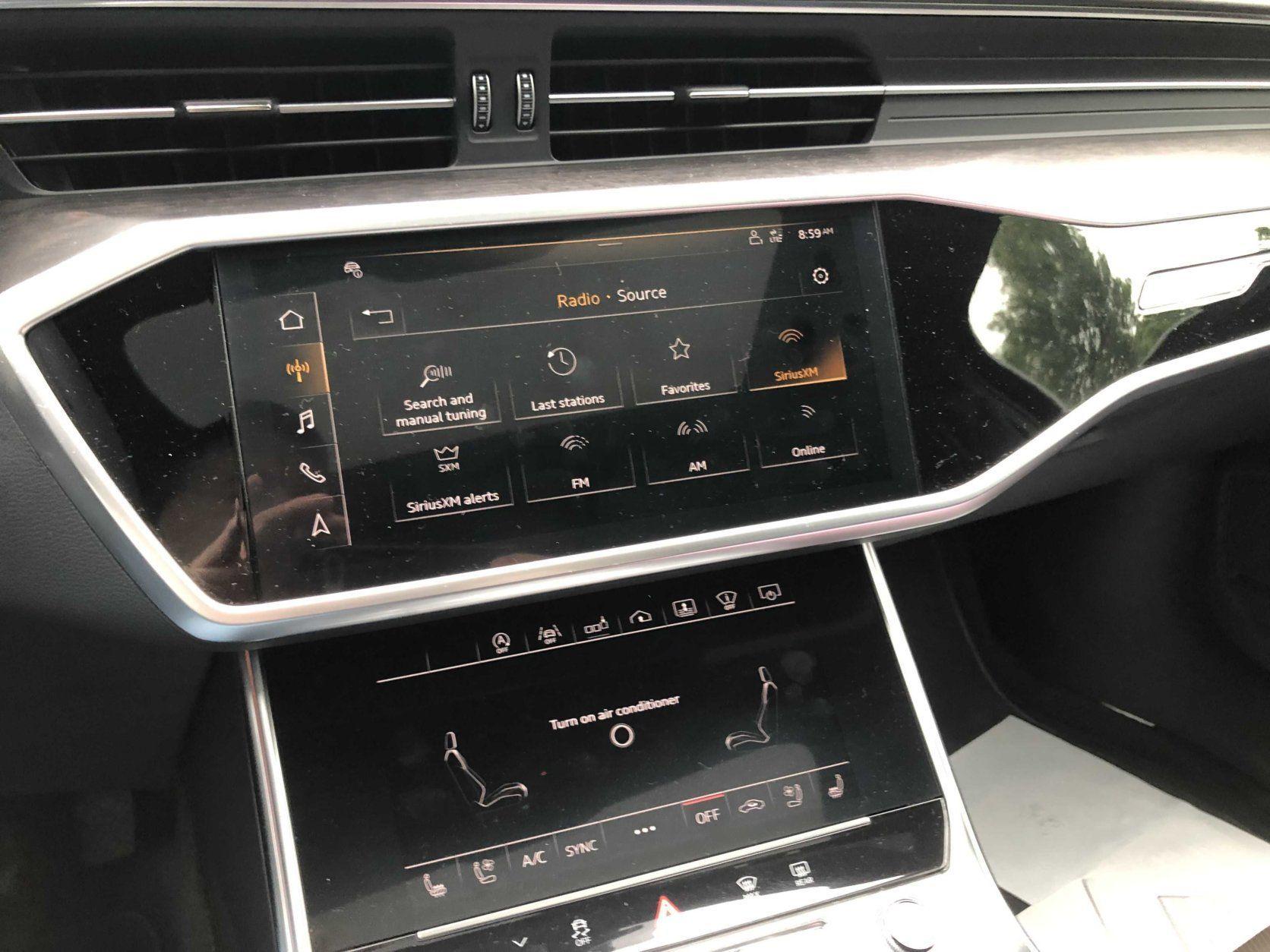 Audi A6 nav