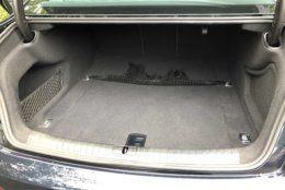 Audi A6 trunk