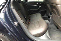 Audi A6 rear seats