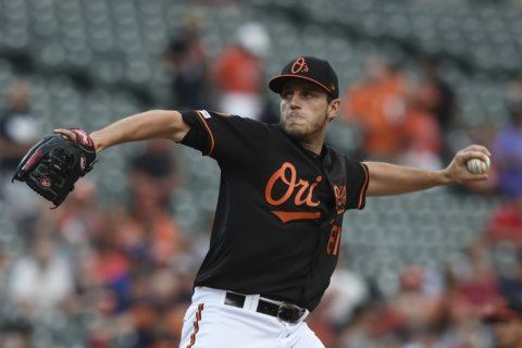 Rookie pitcher Means to represent Orioles in All-Star Game