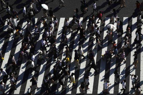 AP Photos: Tokyo's Shibuya Crossing is not so pedestrian