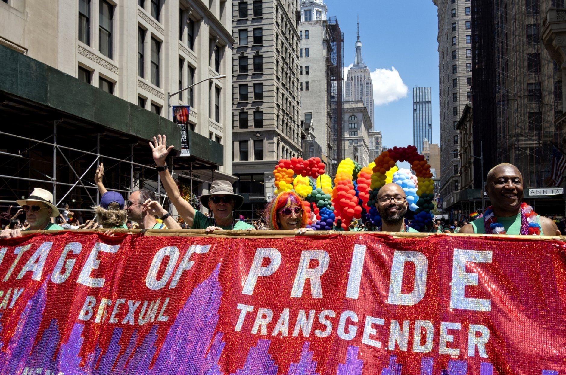 Nyc Pride Parade Is One Of Largest In Movements History Wtop