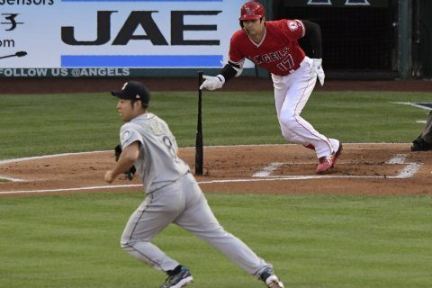 Ohtani homers off Kikuchi in Angels' 12-3 win over Seattle