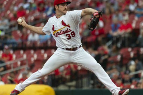 Mikolas, Carpenter lead Cardinals to win over Marlins