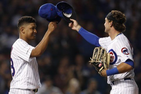 Alzolay's strong debut, 6-run 3rd lead Cubs over Mets 7-4