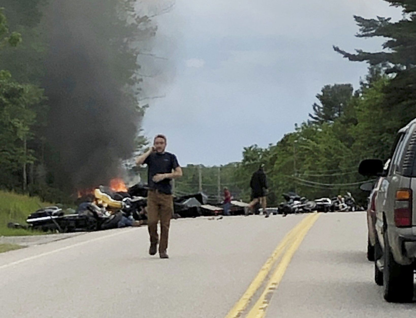 We All Feel It Bikers Mourn 7 Of Their Own Killed On Road Wtop