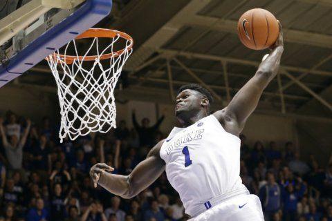 Duke's Williamson, Barrett top list of forwards in NBA draft