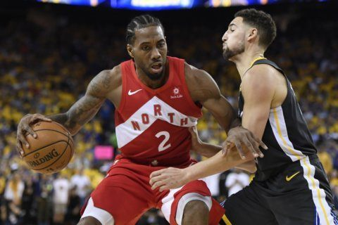 King of the North: Kawhi Leonard wins Finals MVP