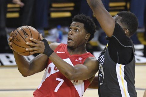Raptors' Kyle Lowry has surgery on thumb injured in playoffs