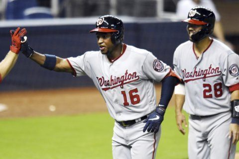 Soto, Robles HR as Nats beat Marlins to complete sweep