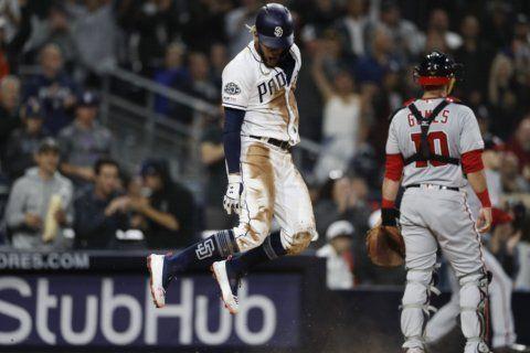Tatis Jr.'s return helps spark Padres over Nationals, 5-4
