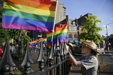 Thousands gather at Stonewall 50 years after LGBTQ uprising