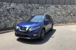The 2019 Nissan Rogue stands out through its integration of tech in the popular crossover. (WTOP/Mike Parris)