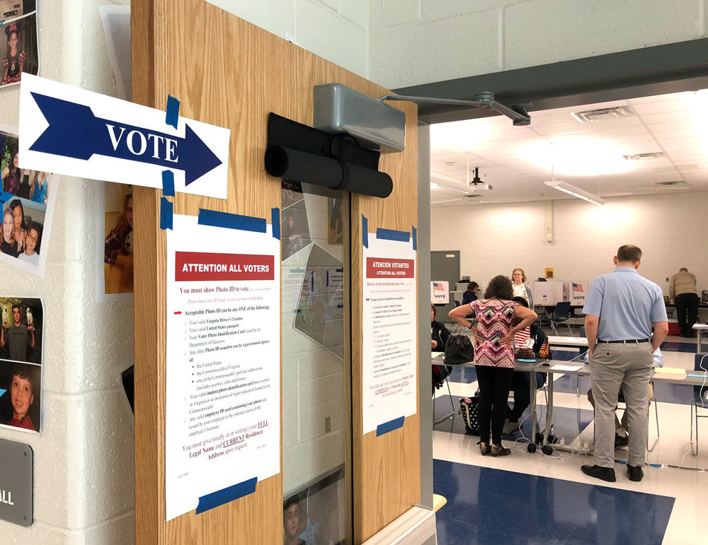 Polls are open until 7 p.m. on Tuesday, June 11, 2019. (WTOP/Kristi King)