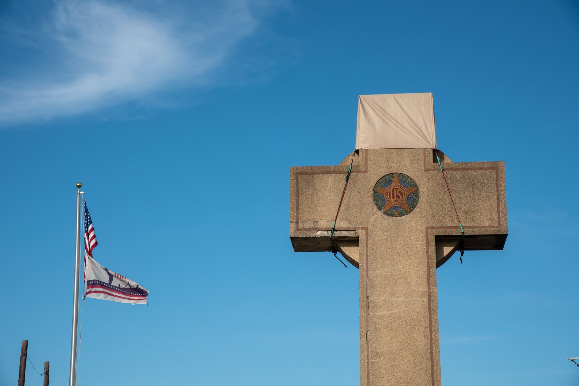 The Peace Cross initially was built to honor Prince George's County veterans who were killed in World War I. (Courtesy M-NCPPC)