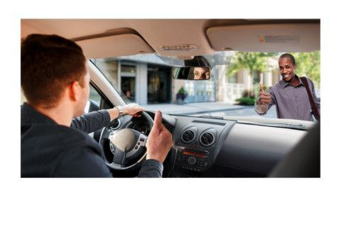 Drivers and pedestrians: always make eye contact