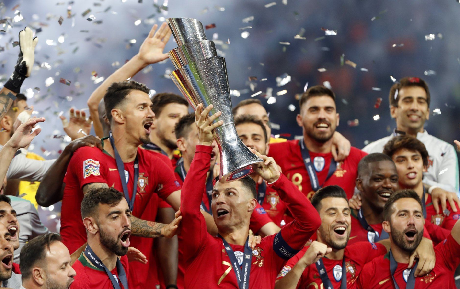 Ronaldo S Portugal Wins 1st Nations League Title Wtop